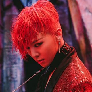 G Dragon 2015 Red Hair Google Search Jiyong Daesung Seungri