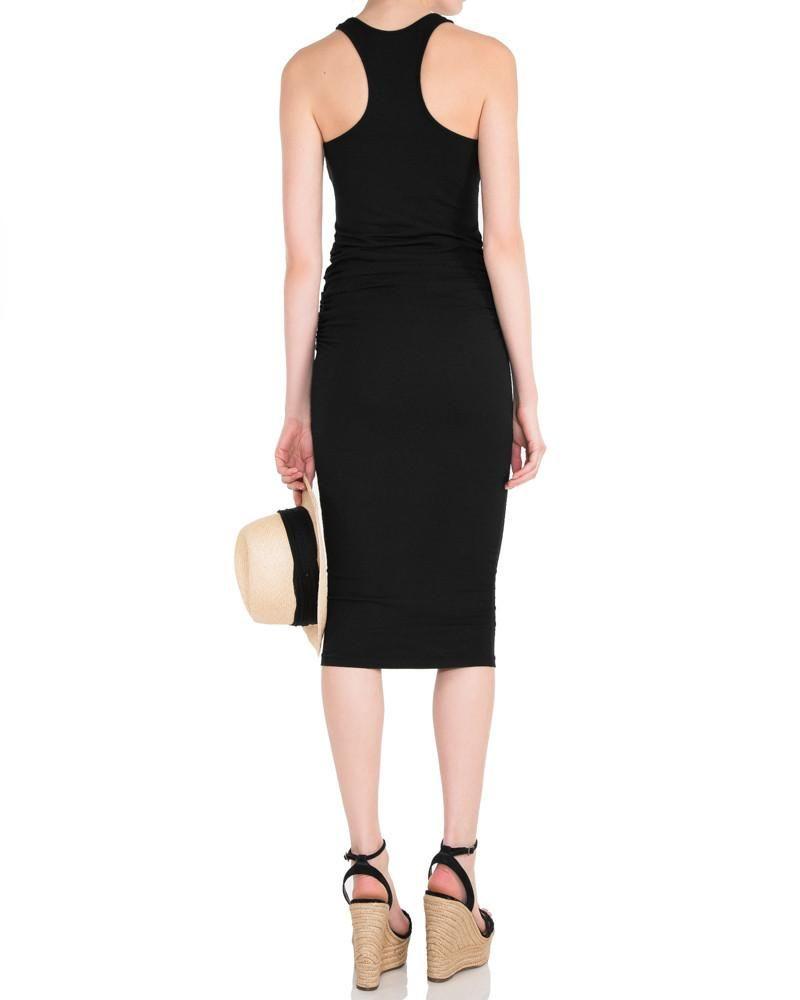 Racerback Midi Dress Black Racerback Midi Dress Cotton Midi Dress Midi Dress [ 1000 x 800 Pixel ]