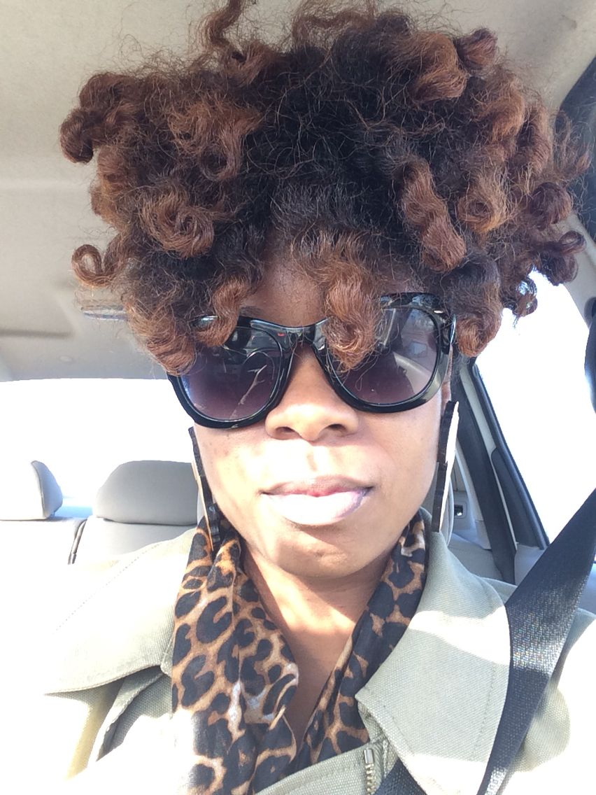 10/23/14 twist out Updo
