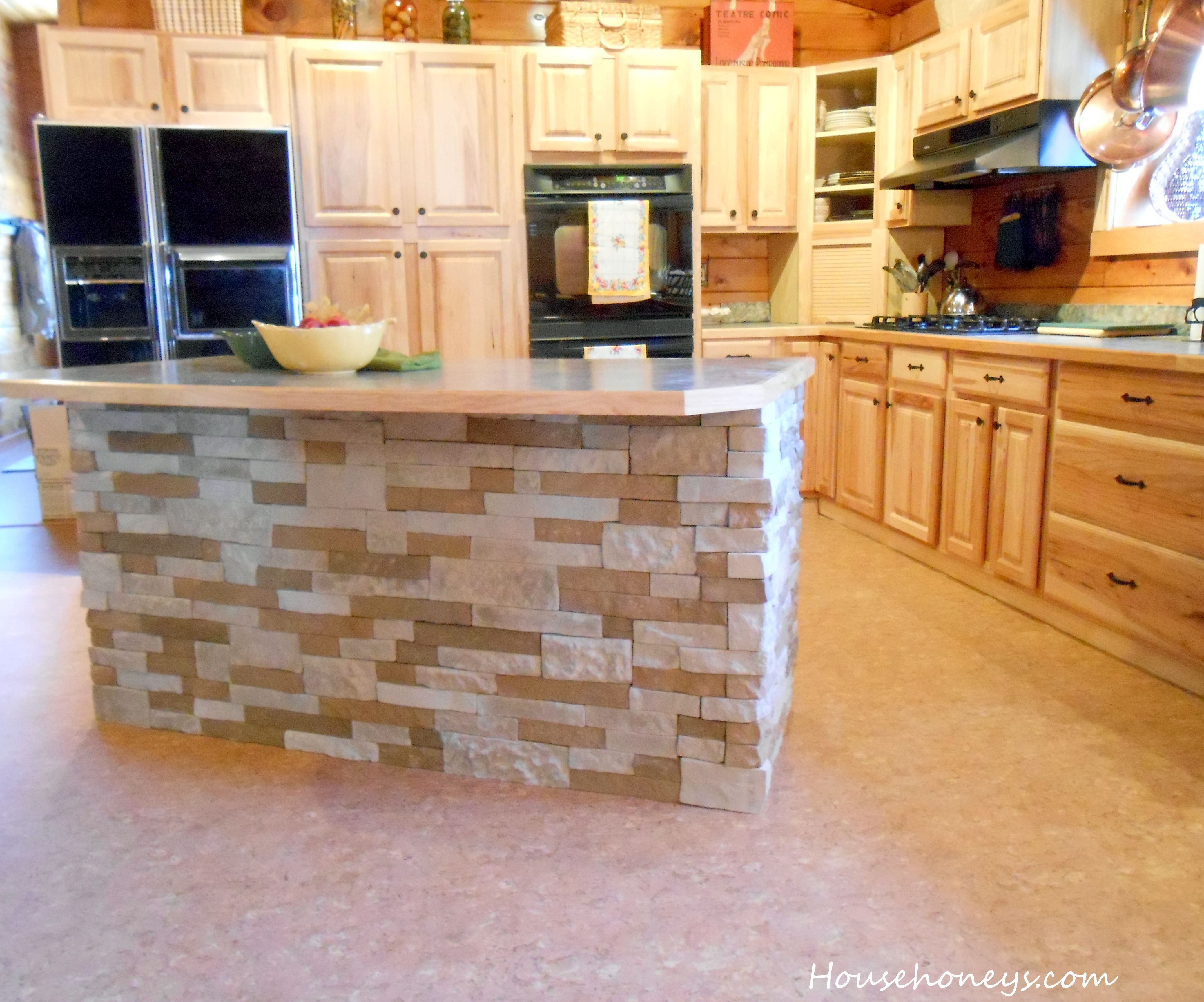 The island kitchen design - Air Stone Kitchen Island Our New Kitchen Just Needs A Little Pizazz And The Island