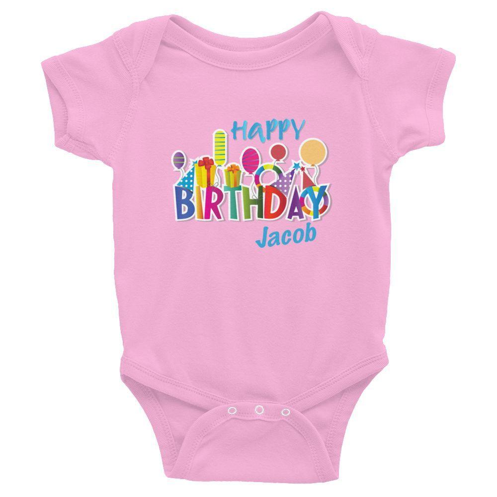 Happy Birthday - Infant Bodysuit