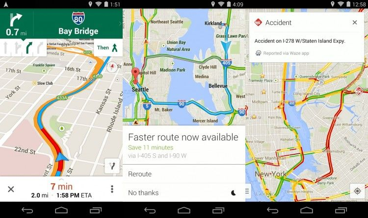 Google Maps 8.0.0 - Offline Maps, Transit Walking Times ... on google sync android, google chrome search, google docs offline android, city maps 2go android, google maps android icon,