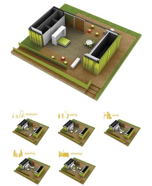 Cinco casas con sello España en la Villa Solar