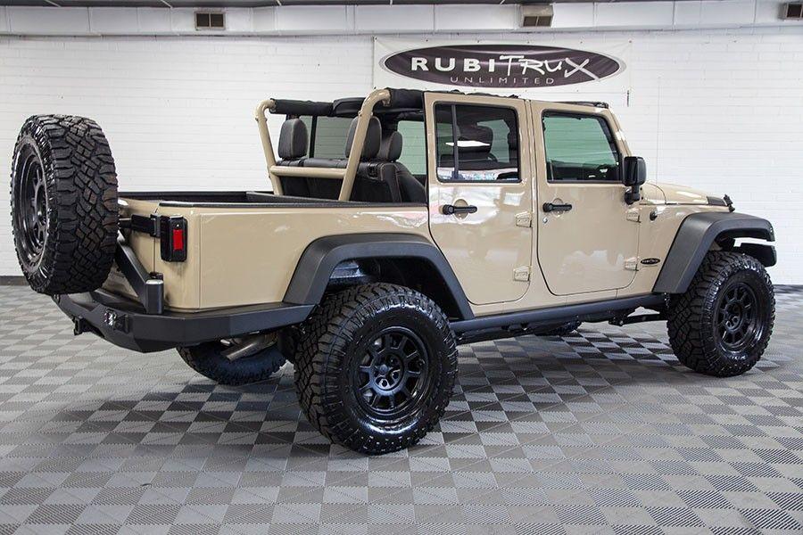2016 Jeep Truck >> 2016 Jeep Wrangler Sport Mojave Sand Ext Conversion Jeep