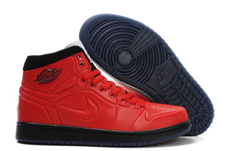 retro 1 jordans men red