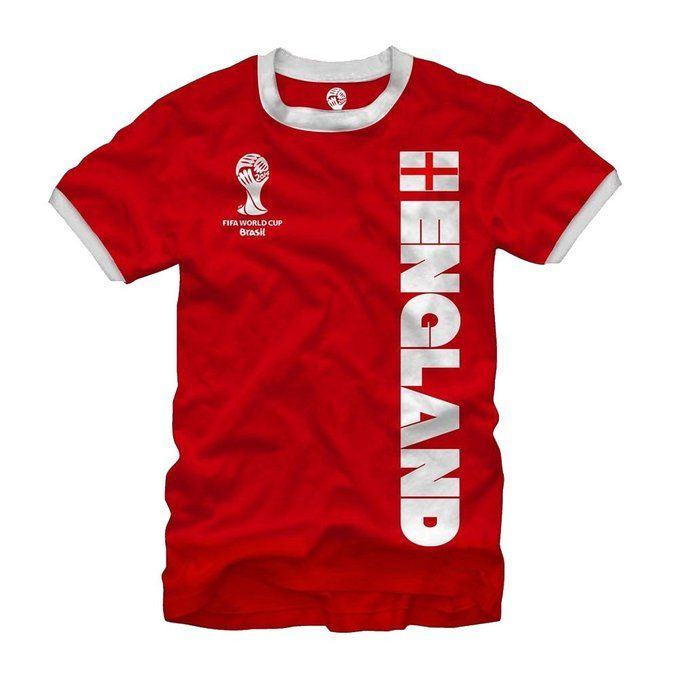 Brazil Neymar World Cup T Shirt Ringer Classic Vintage All Sizes