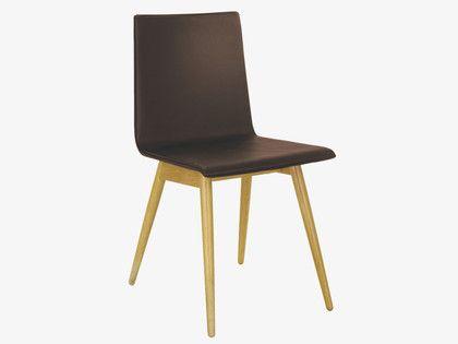 Habitat Black Leather Dining ChairsBlack