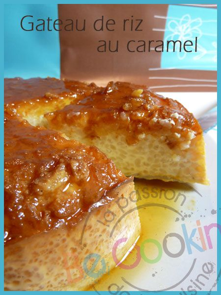 gateau de riz au caramel cuisine belge pinterest caramel. Black Bedroom Furniture Sets. Home Design Ideas