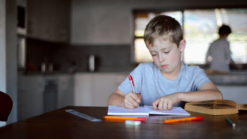 Image result for kid doing homework night kitchen table | Importance of  education, Importance of physical education, Education