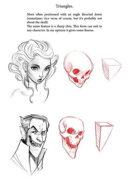 Face Structure | Drawing tips✒✏ (Official Board) | Pinterest ...