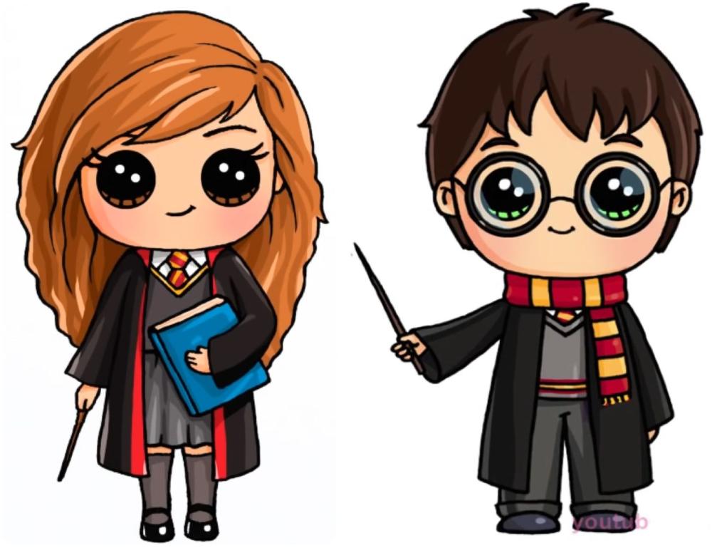 Kawaii Harry Potter Cerca De Google En 2020 Dibujos Kawaii Faciles Dibujos Kawaii 365 Harry Potter Kawaii