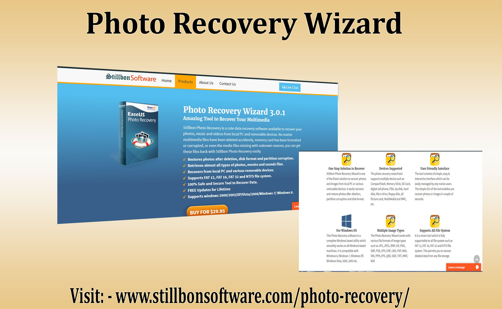 Stillbon Photo Recovery Wizard Allows You To Recover Deleted