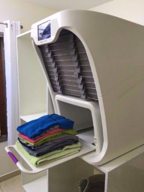 Foldimate Robotic Laundry Folder Laundry Folder Laundry Room Design Smart Home Technology