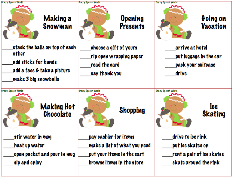 4 Step Sequencing Worksheets – Sequencing Events Worksheets for Kindergarten