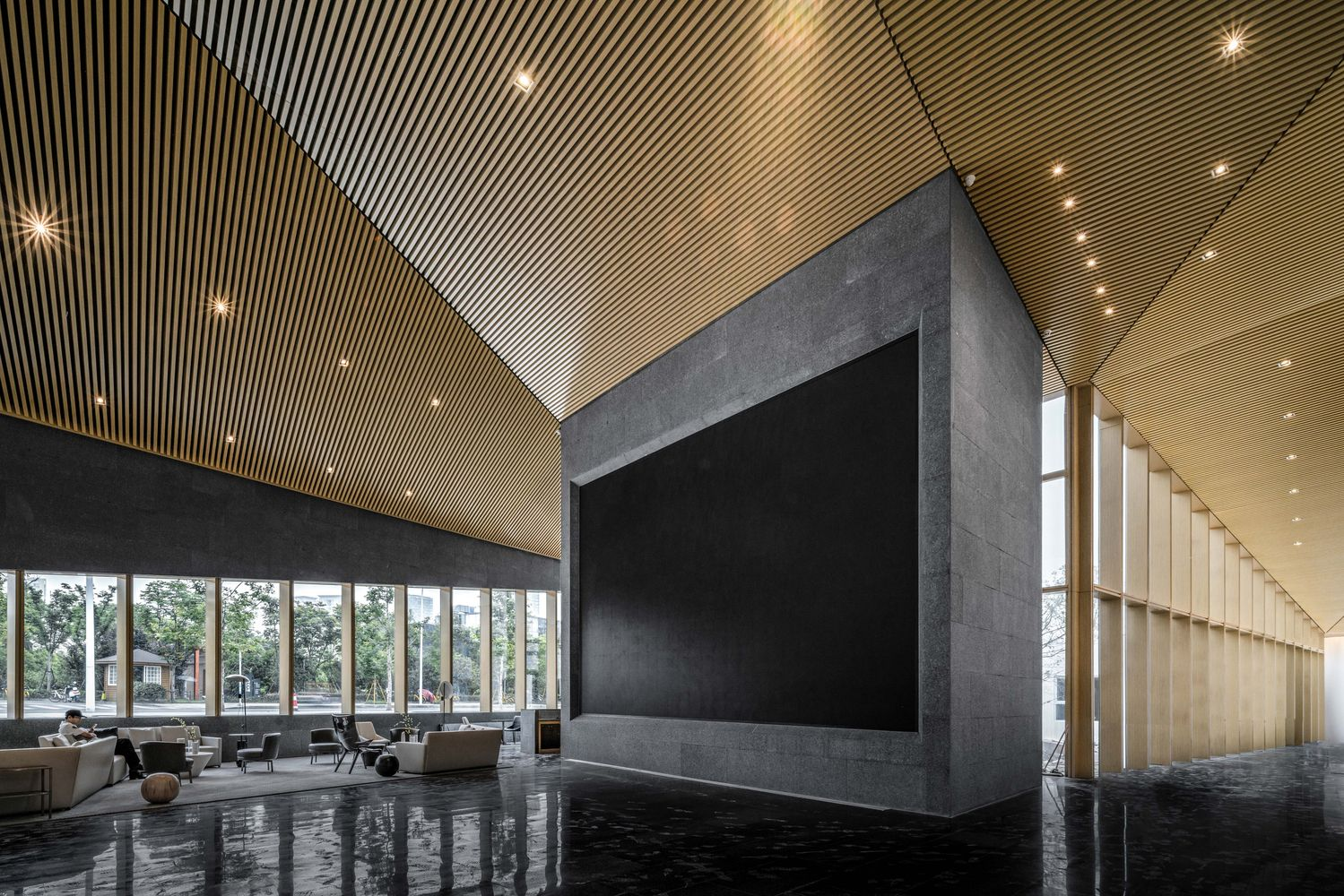 Gallery of wenzhou central park culture club lacime architects 12