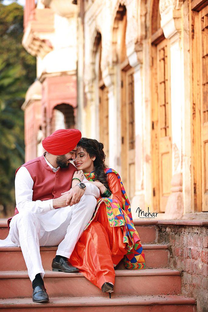 Amitoj and Preet | pic i like | Punjabi wedding couple ...