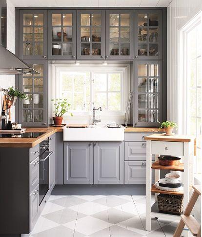 Pin de Nya OR en Kitchens | Pinterest | Muebles de cocina, Ikea y ...