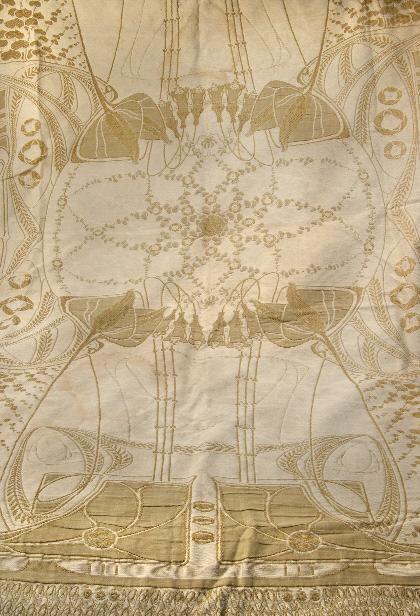 Überwurf (Should Wrap), jacquard, 1904