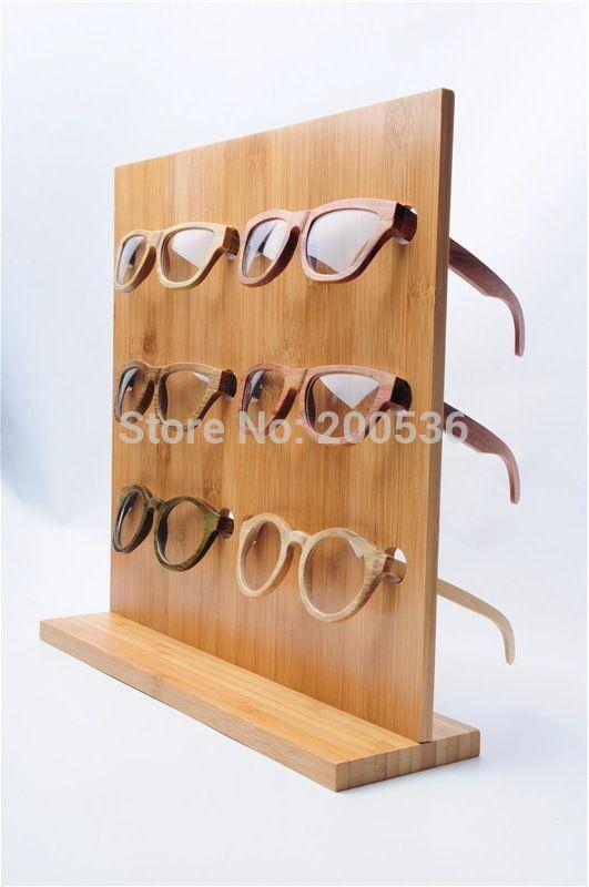 Eyeglass Frame Display Boards : bamboo glasses display rack, Sunglasses Glasses Display ...