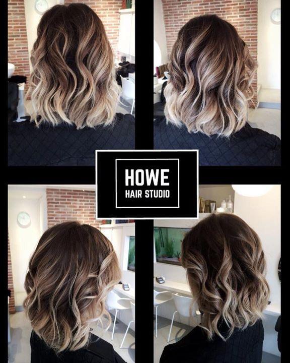 Balayage Olaplex Sombre Bronde Wob Waves Bob Howe Hair Hair