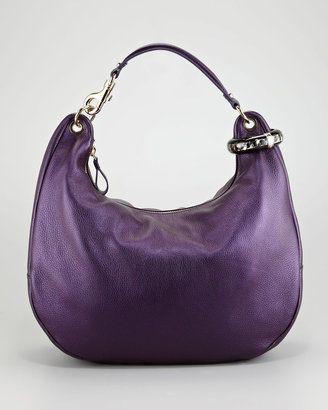 c9e9af5d212 ShopStyle:Jimmy Choo Solar Pearlescent Hobo Bag | Handbags | Bags ...