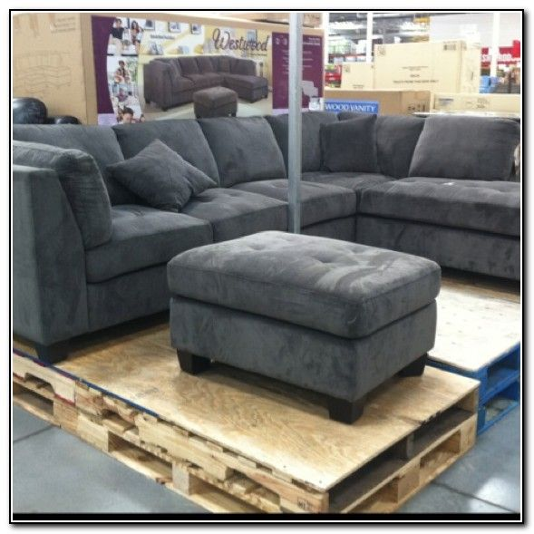 Costco Living Room Chairs: Gray Sectional Sofa Costco