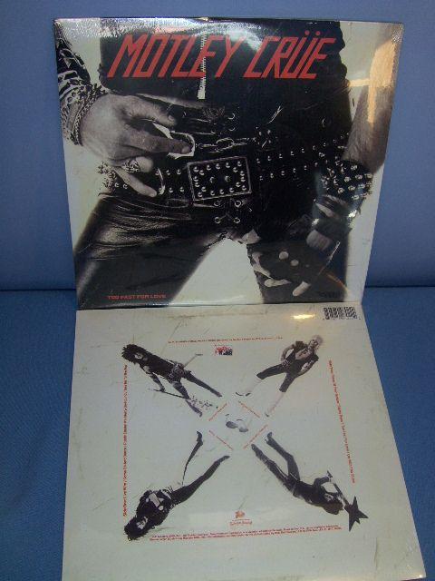Motley Crue Too Fast For Love 180 Gram Vinyl Lp Sealed Brand New Ebay Motley Crue Vinyl Motley