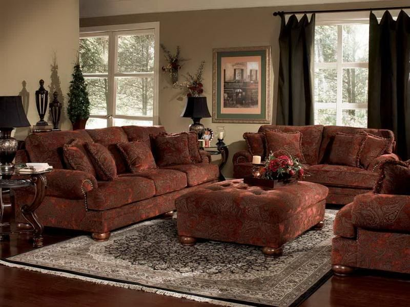 Old World Living Space Home Decorating Ideas Sofa Design