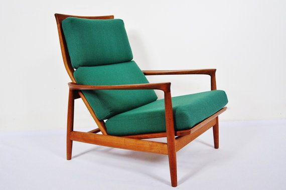 Folke Ohlsson For Dux Swedish Teak Armchair Teak Armchair Furniture Scandinavian Furniture Design