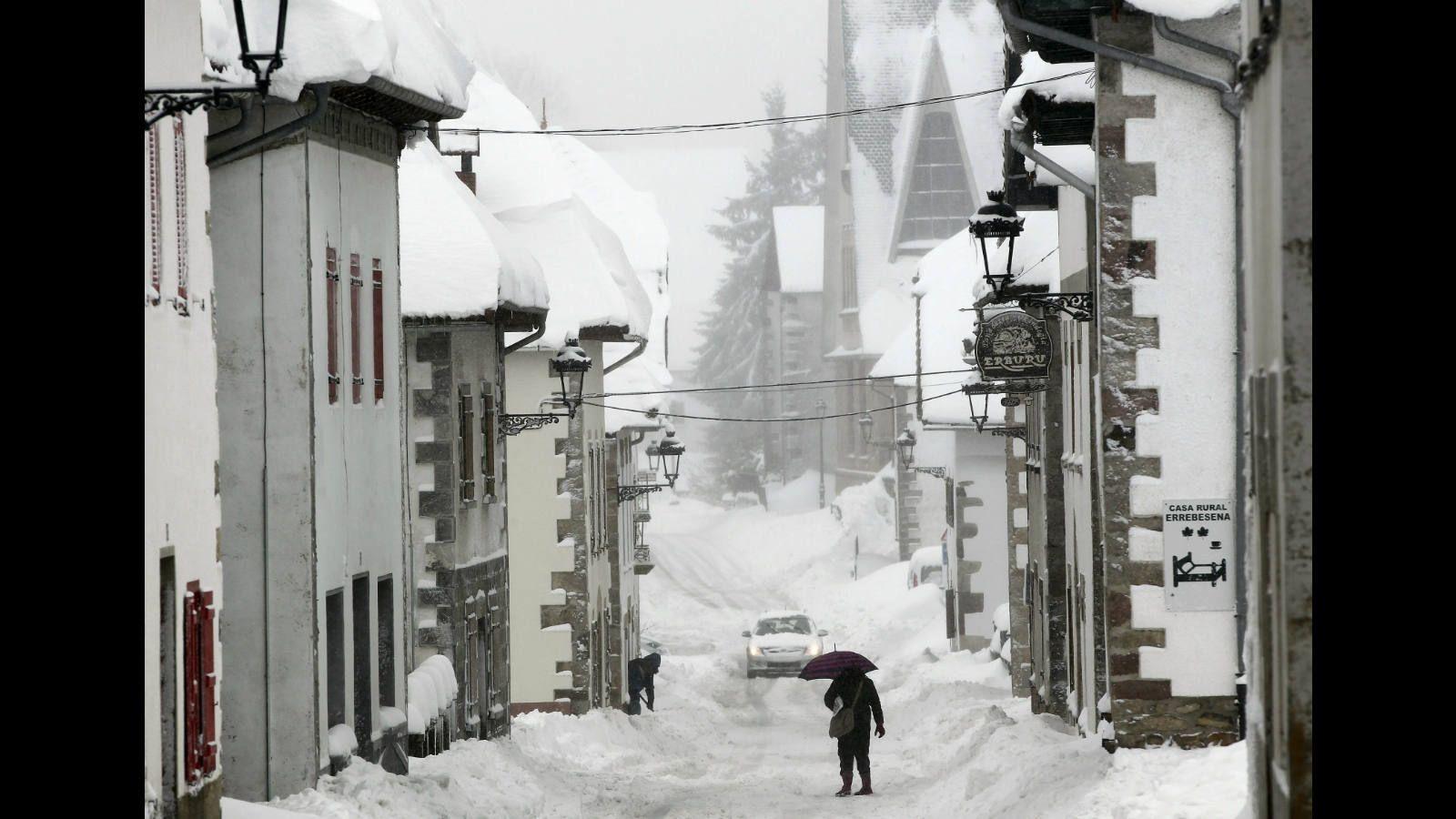 El temporal de nieve que ha azotado el norte de España esta semana - Sociedad - ABC.es