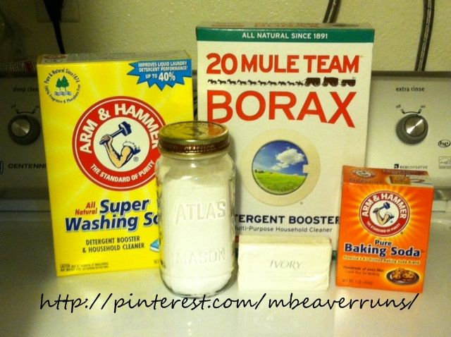 Diy Low Suds Powdered Laundry Detergent Add 1 Cup Borax 1 Cup