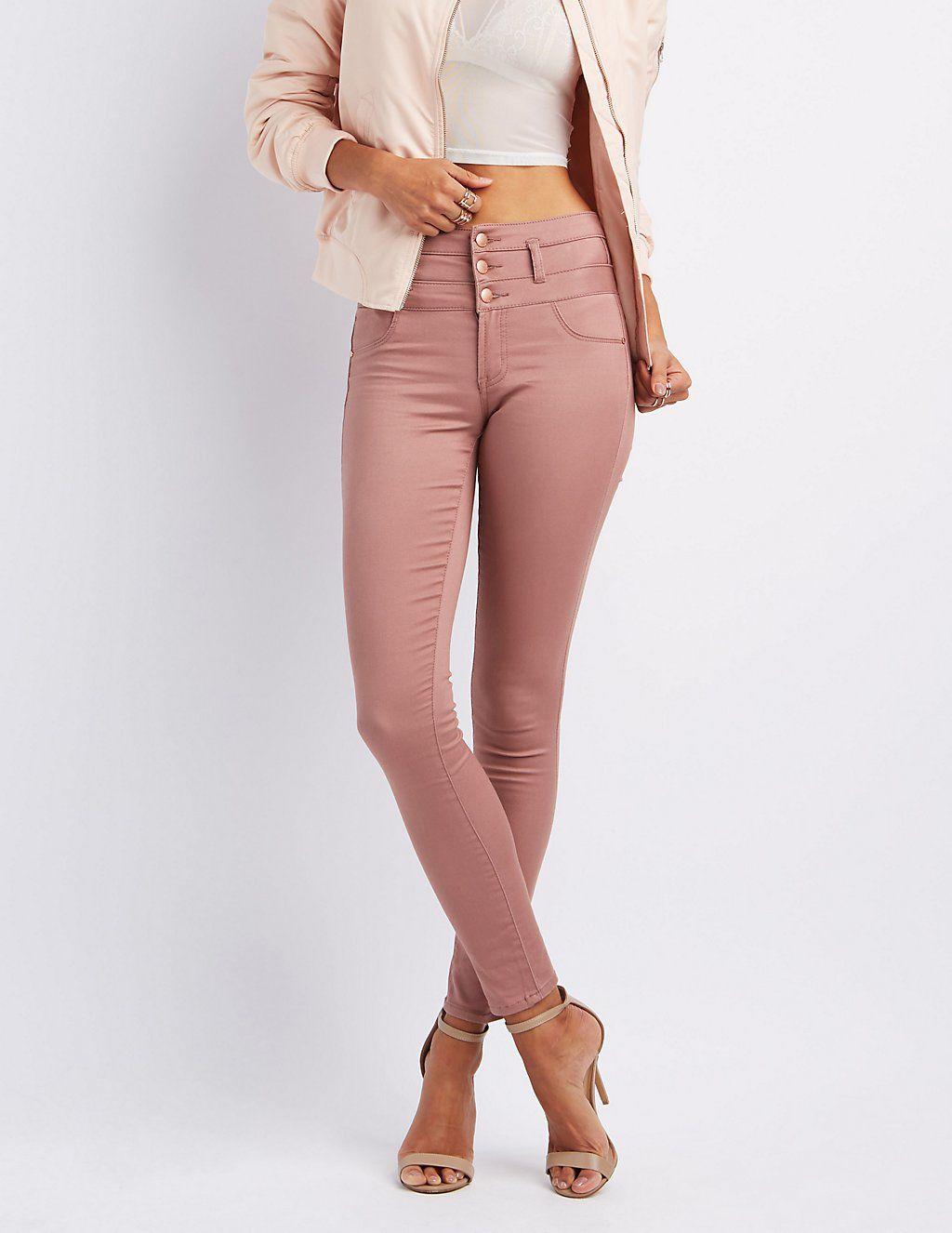 Refuge Hi Waist Skinny Jeans Charlotte Russe Skinny Jeans Skinny High Waisted Skinny Jeans
