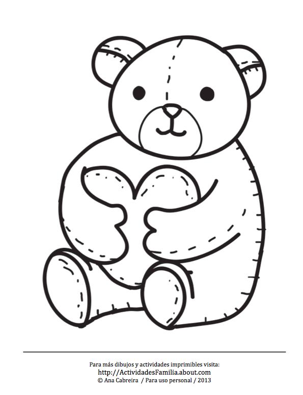 10 Dibujos de corazones para imprimir y colorear | Dibujos de ...