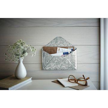 Galvanized Metal Envelope Mail Holder Threshold Mail Holder Target Decor Home Accessories