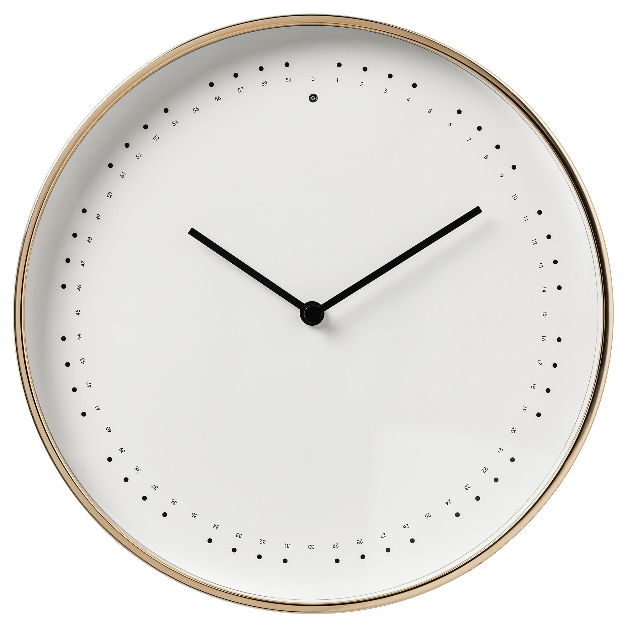 Panorera Wall Clock Ikea In 2020 Wall Clock Ikea Wall Clock Ikea Clock