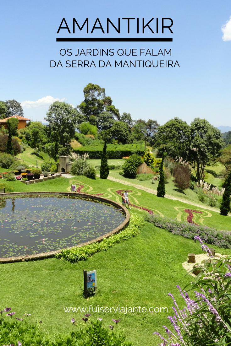 O Parque Amantikir - Jardins que Falam, fica em Campos do Jordão, na Serra da Mantiqueira. É um espaço incrível onde podemos visitar jardins inspirados em várias partes do mundo.