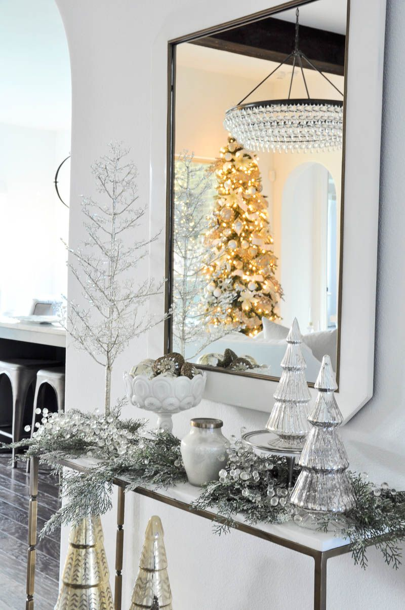 Christmas Home Tour - Featuring | Christmas décor, Xmas tree and ...
