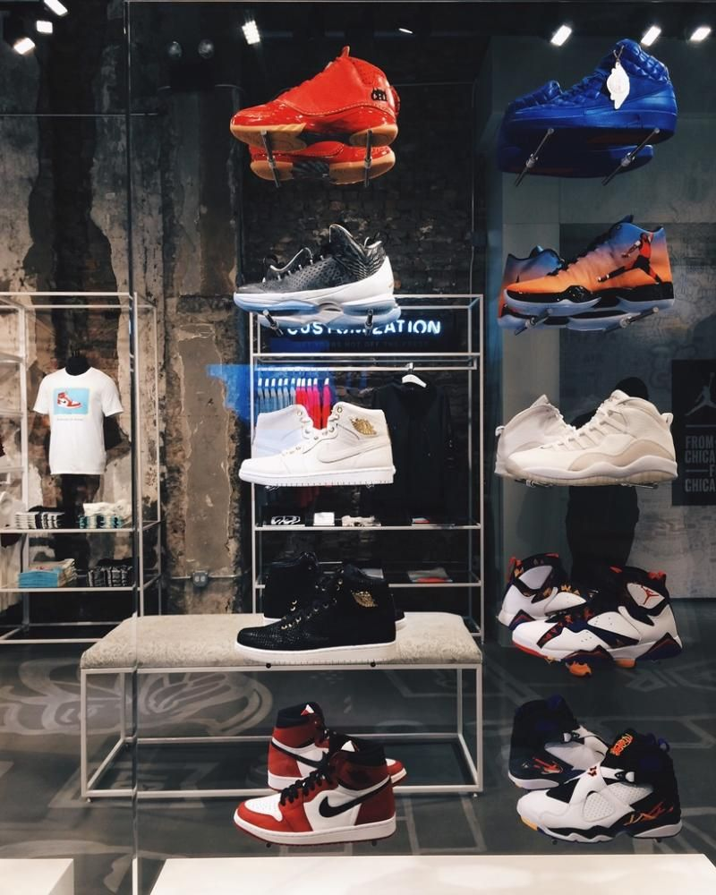 Magasin Air Jordan Temps Chicago Il