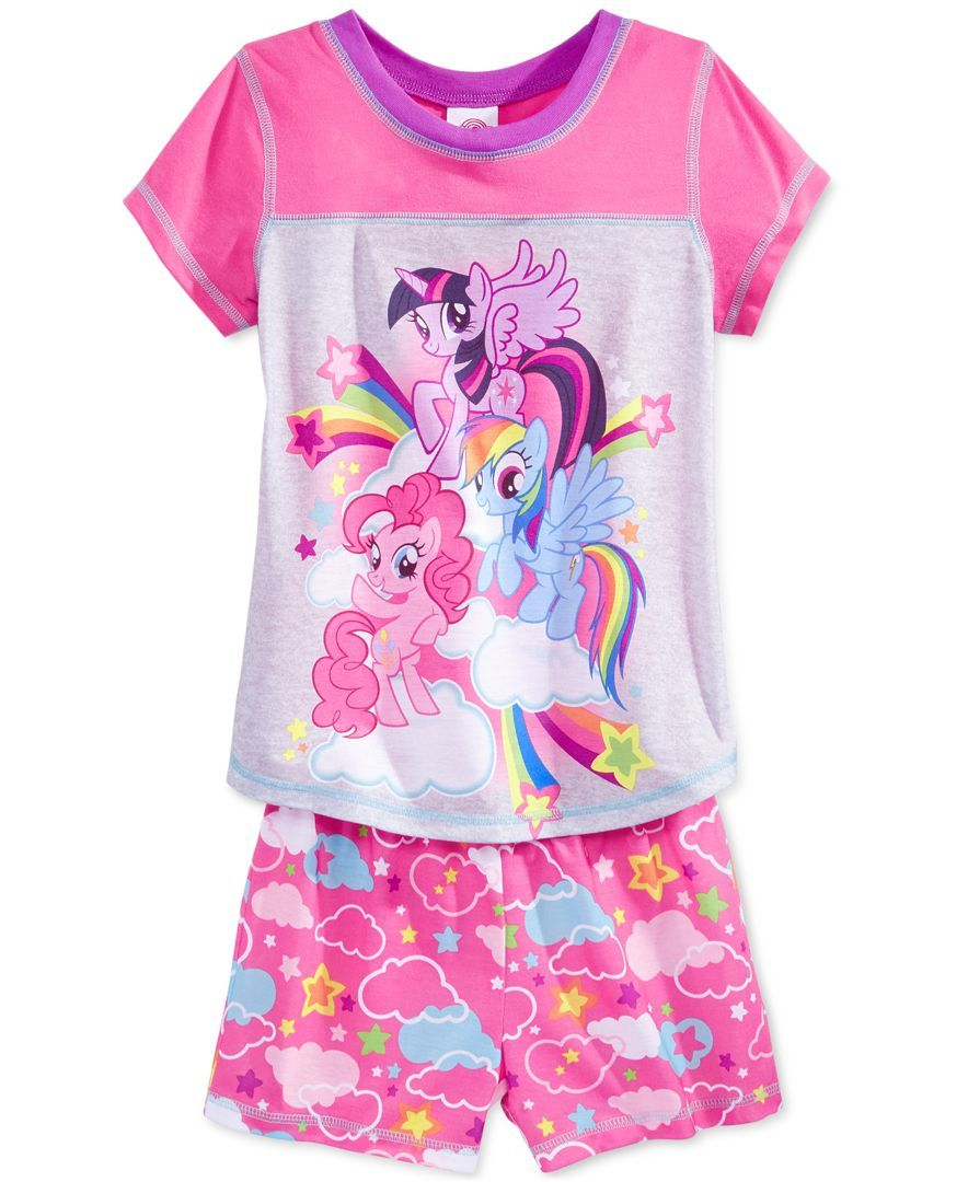 98cfabe819 My Little Pony Girls  or Little Girls  2-Pc. Pajama Set