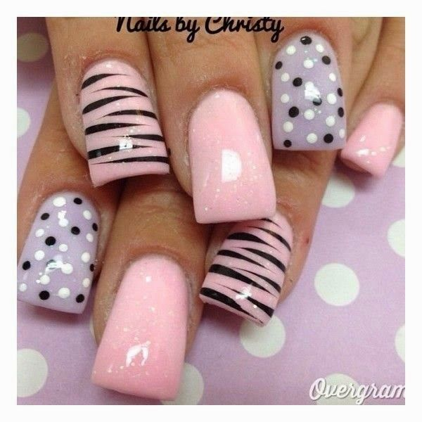 Lovely Nail Art Ideas For Summer 2014 Uas Decoradas