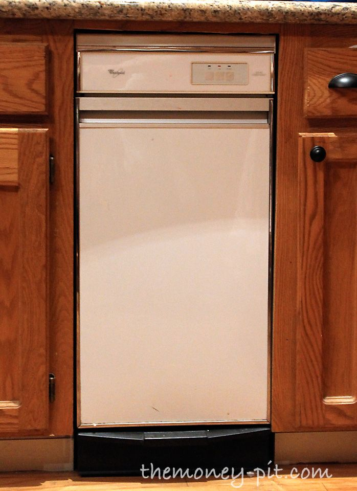 Turning White Appliances Into Stainless Steel For 25 White