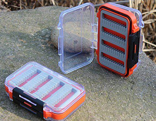 Bluenet Color Plastic Fishing Lure Storage Box Case Tackle Box ** For more information, visit image link.