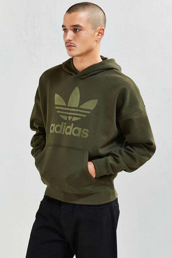 adidas hoodie khaki