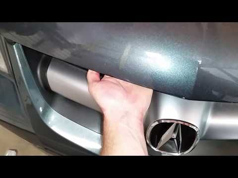 56) 2001-2006 Acura MDX - Weak & Worn Out Hood Lift Supports - Hood on