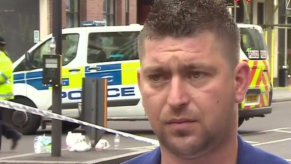 Florin from Romania fought the London Bridge attackers off using a crate.  Source link... - #Attackers, #Crate, #Florin, #Fought, #World_News