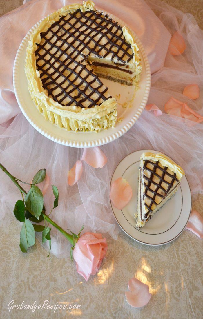 Smetannik-Russian Sour Cream Cake- Сметанник | ~ Eastern