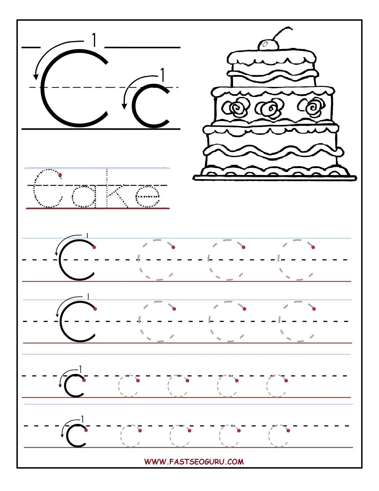 Ideas About Letter C Activities