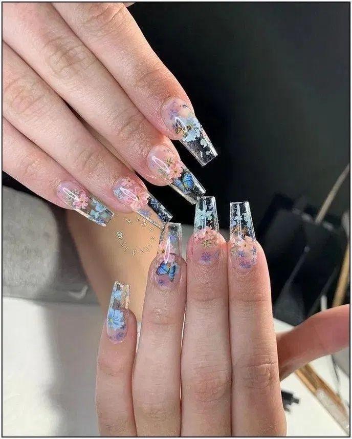 #shortnails #whitenails in 2020 | Acrylic nails coffin ...