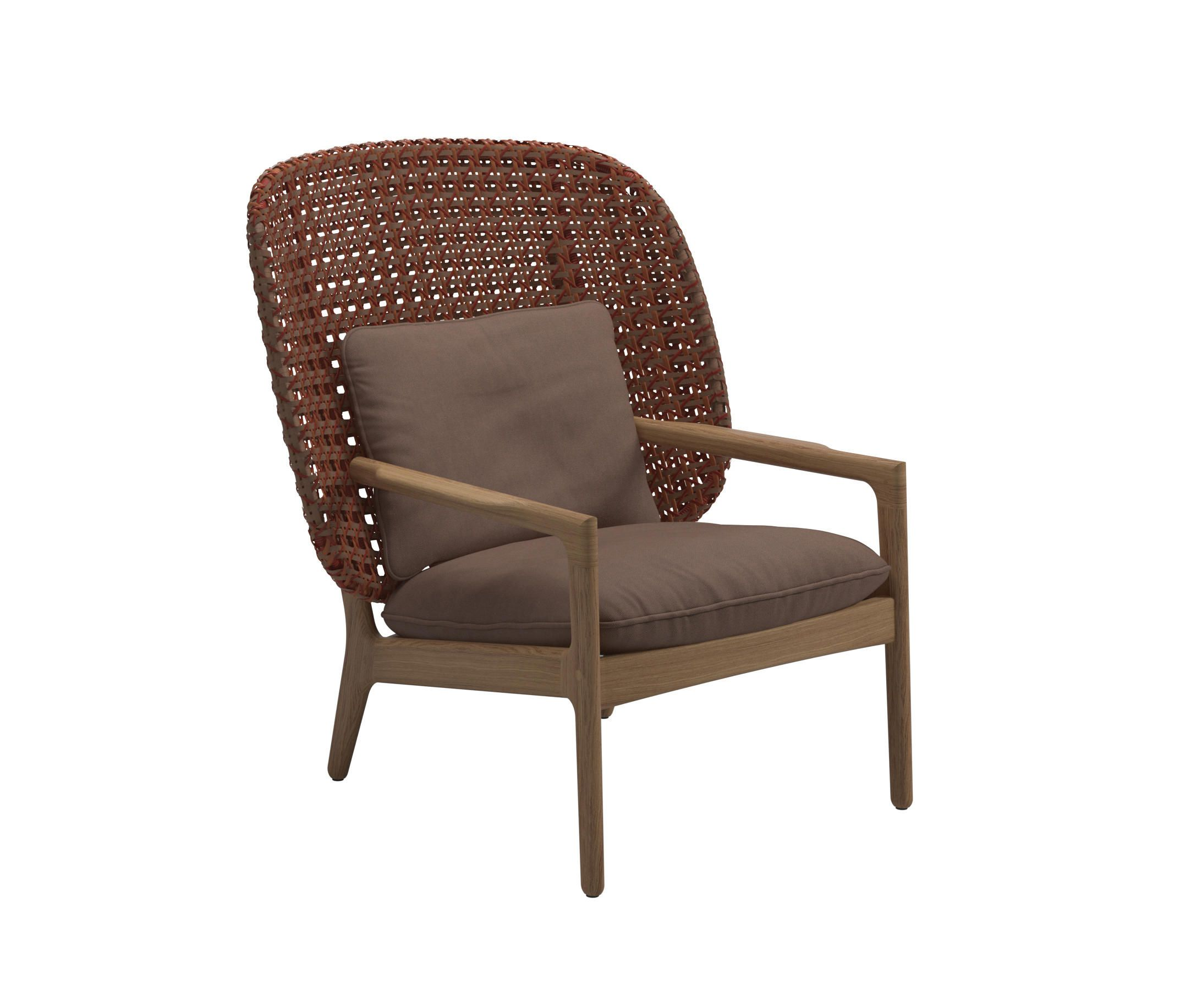 Kay High Back Lounge Chair Copper By Gloster Furniture Gmbh Architonic Gloster Furniture Furniture Chair