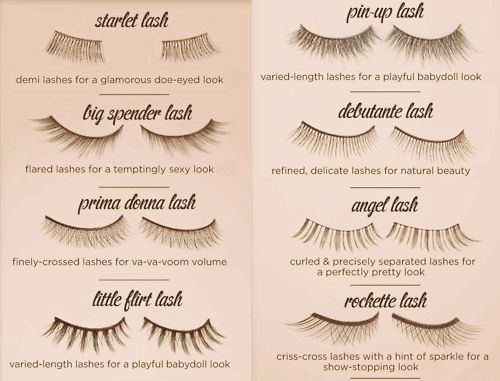 50acd3e0770 your guide to fake lashes | Maquillaje | Pinterest | Cílios ...
